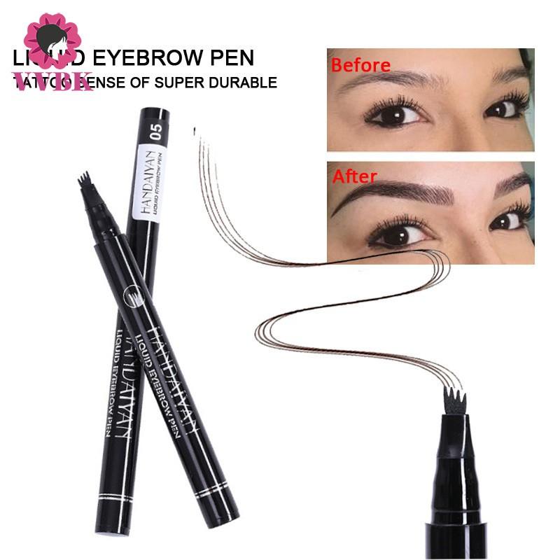 Vvbk Waterproof Tattoo Eyebrow Pen Semi