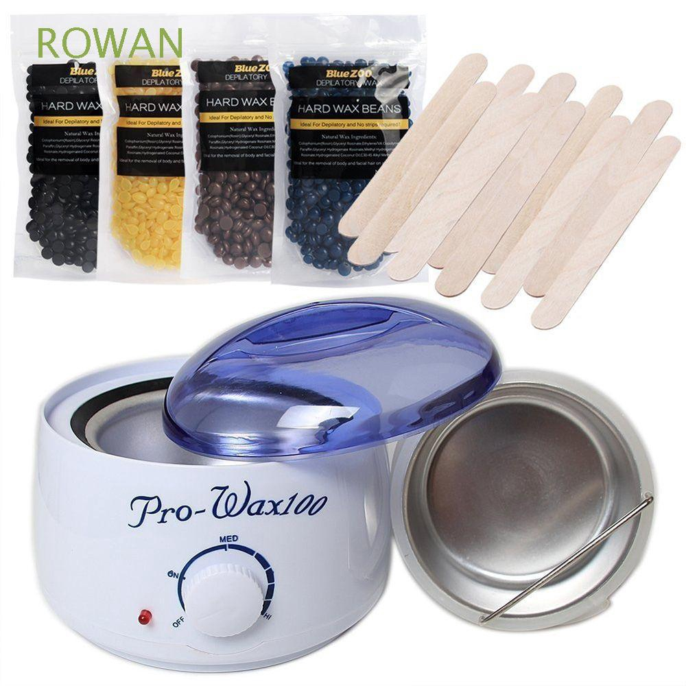Painless Wax Warmer Kit Hair Removal Hard Beans Body Waxing Depilatory Cream