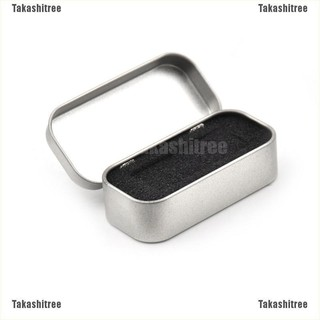 80*38*20mm Metal Tin Flip Storage Box Case Organizer For Coin Candy Keys JDUK