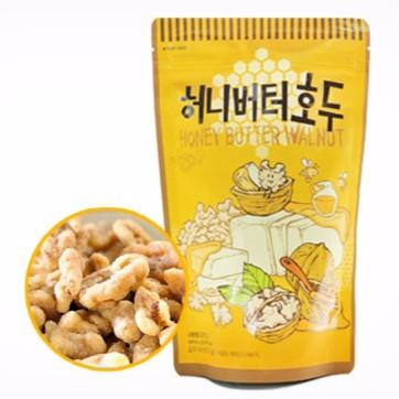 Honey Butter Walnut 220g / Nuts / Snacks / Korean Snack / Nut Snack /  Walnut / Made in Korea