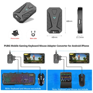 PUBG Mobile Gaming Converter Keyboard Mouse Adapter for