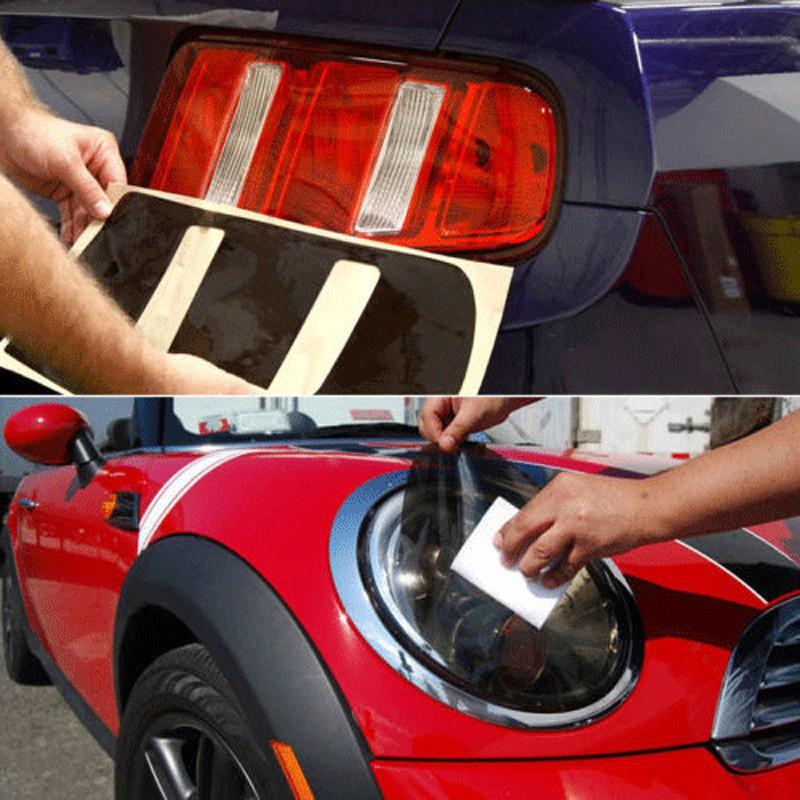 Medium Light /& Ultra Light Car Auto Tint Window Tinting Film 35/% Light Black 3mx50cm Active Film Limo Black