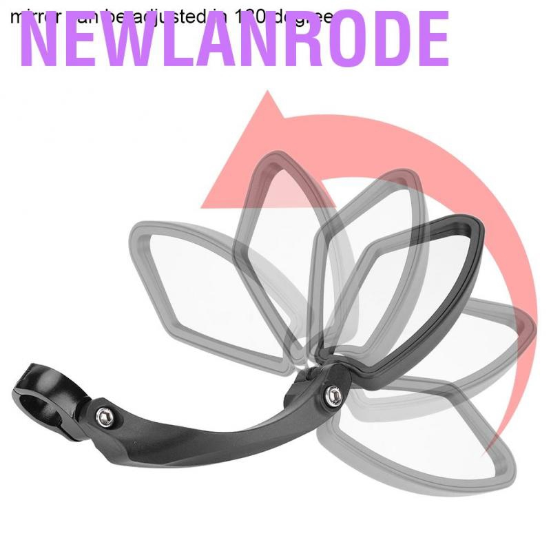 Bicycle Right//Left Handlebar Review Rear Back View 180 Rotation Mirror for Mountain Road Bikes Left side Bike Back View Mirror