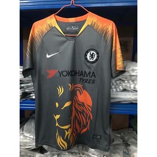 finest selection 86316 581b3 Chelsea Training T-Shirt Black 2018 soccer jersey training shirt