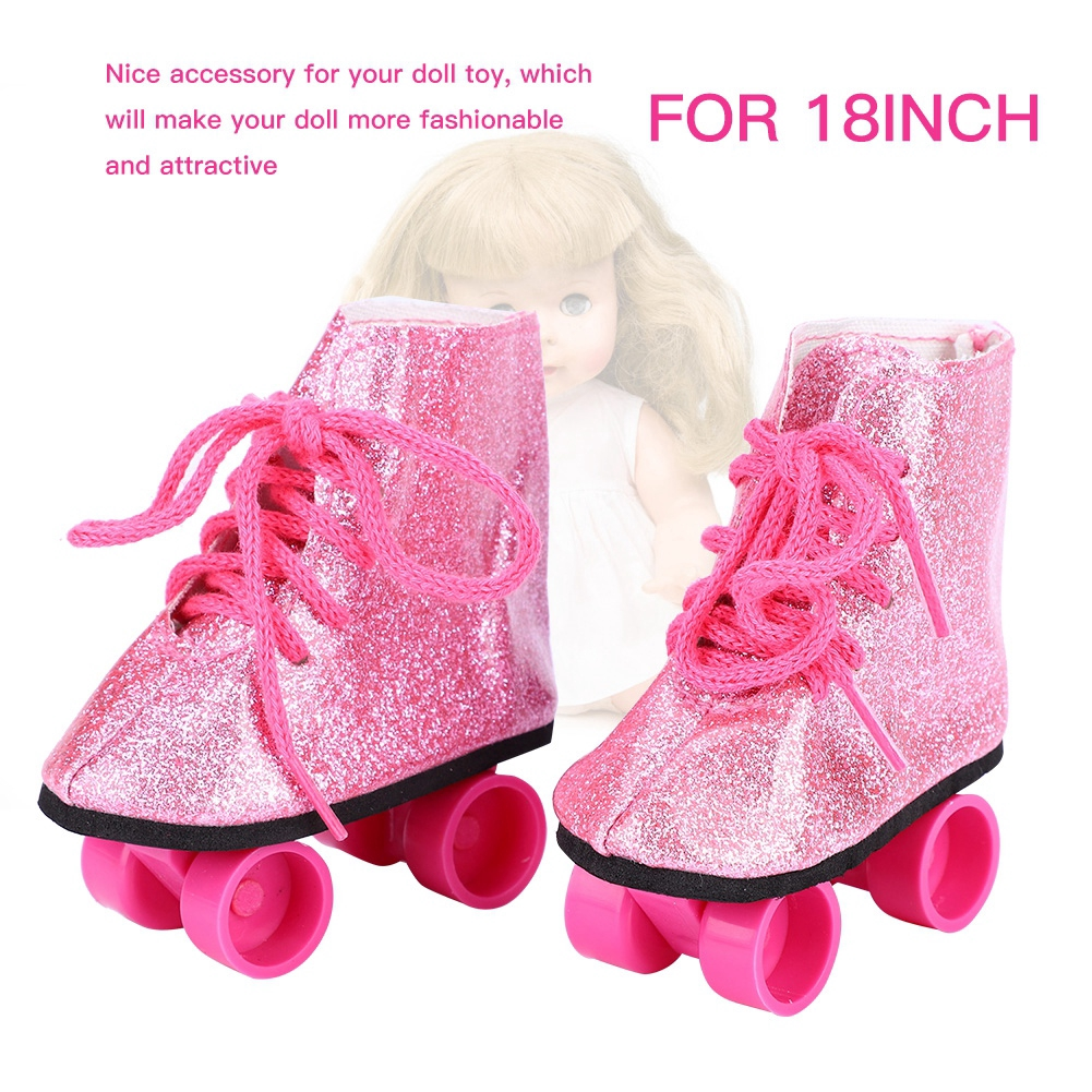 Fashionable Doll Toy Accessories Doll Roller Skate Shoes for 18inch Baby Doll #3
