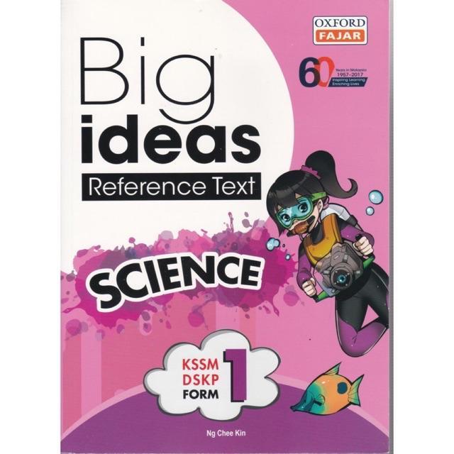 Ready Stock Oxfordfajar Big Ideas Reference Science Form 1 Tingkatan 1 Shopee Singapore