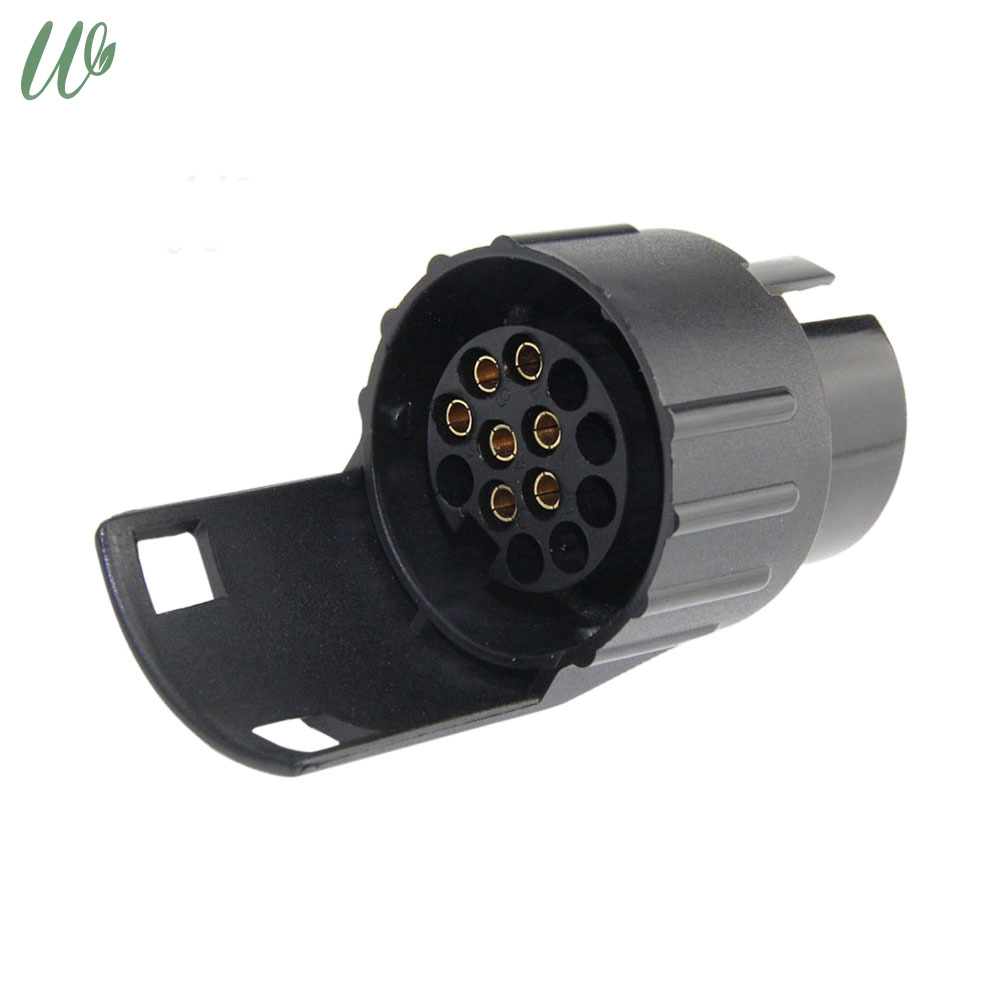 Pin Tow Bar Accessory Cable for Car Trailer Tow Plastic Socket Plug 12 V car connection Jack Plug Adaptor Adapter 13 to 7