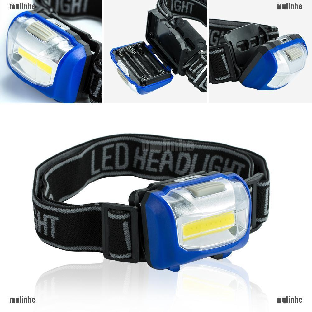Clip On Cap Light 3 LED Hat Light Lamp Head Torch For Cycling Camping Hiking Fis