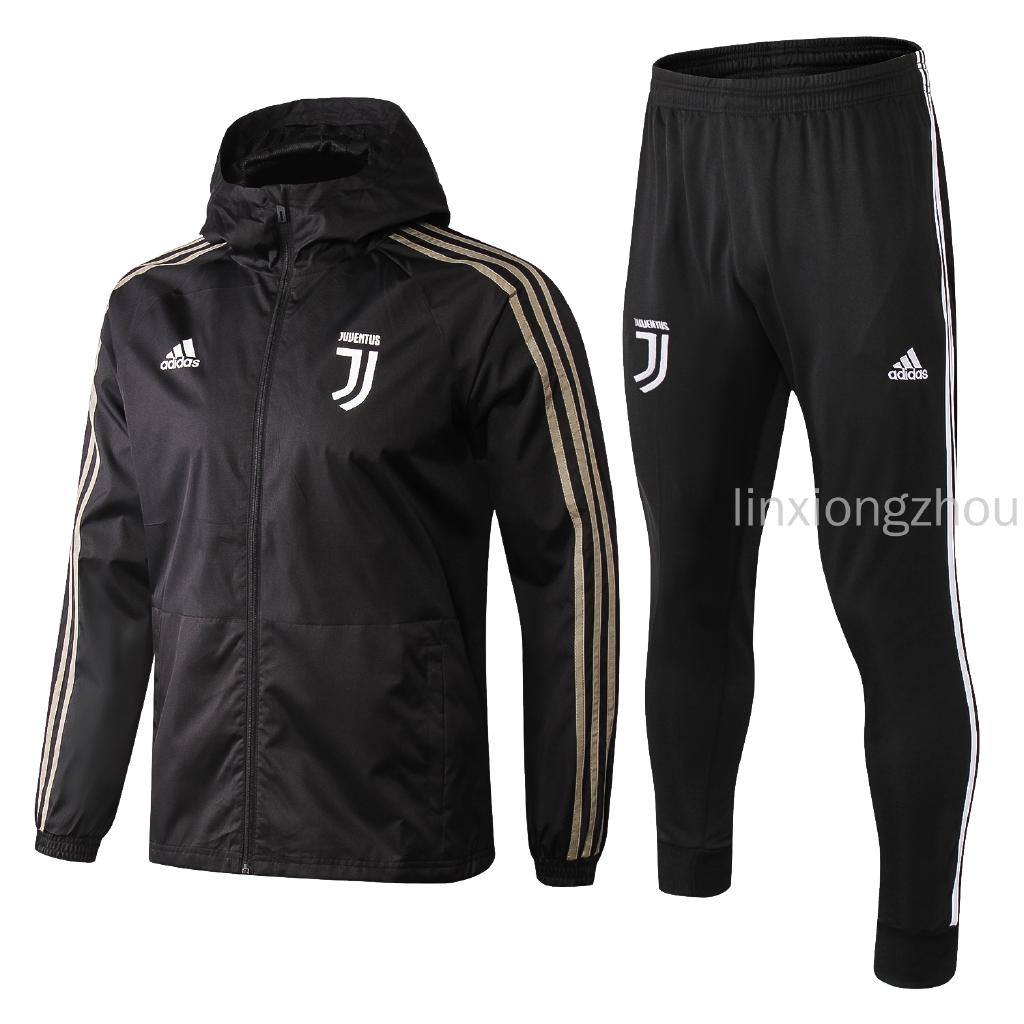 210a1b9893 top quality 18 19 juventus football windrunner