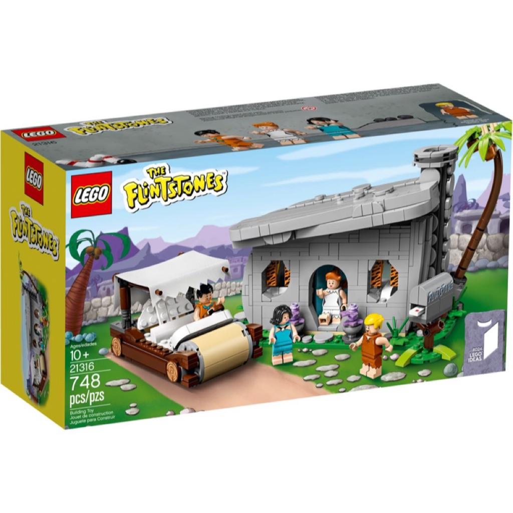 New Lego Ideas The In Sealed 21316 Flintstones Leeogel Box 9IDEHW2Y