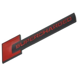 ✿Jacansi✿Metal Supercharged Car Emblem Badge Sticker Decal