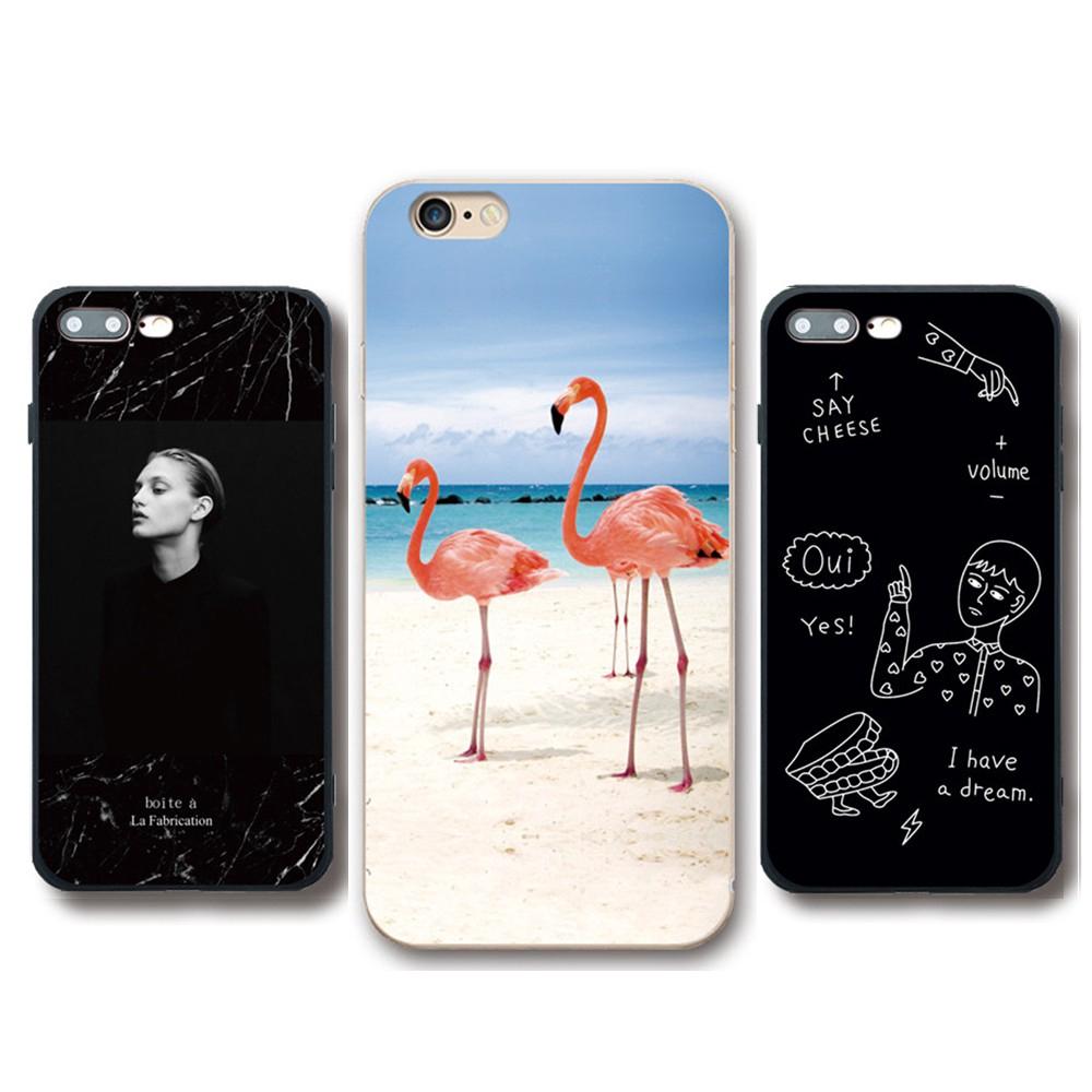 Cute Flamingo OPPO R11 R11S R9 R9S / R9 Plus / R9s Plus TPU Silicone Case