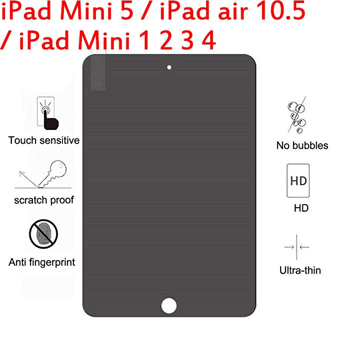 1PC Tempered Glass Film Screen Protector Cover Case For iPad Mini Series