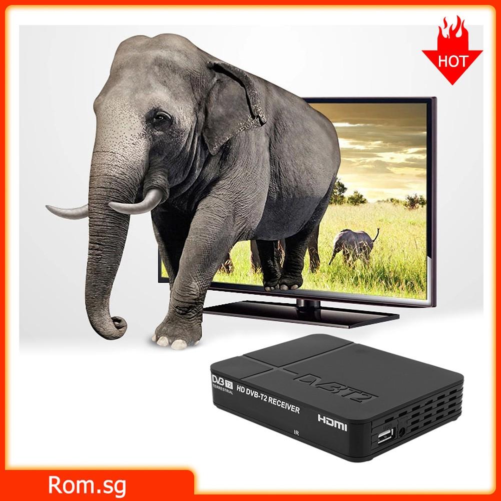 Rom Full HD 1080P K2 DVB-T2 Digital Video Terrestrial MPEG4 PVR Receiver  STB TV