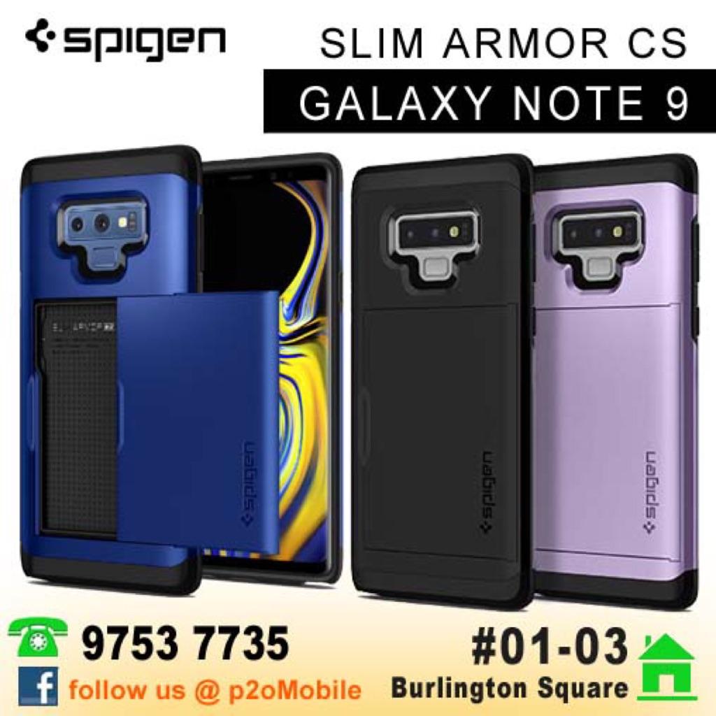 low priced 43591 38c04 [Note 9] Spigen Slim Armor CS for Samsung Galaxy Note 9