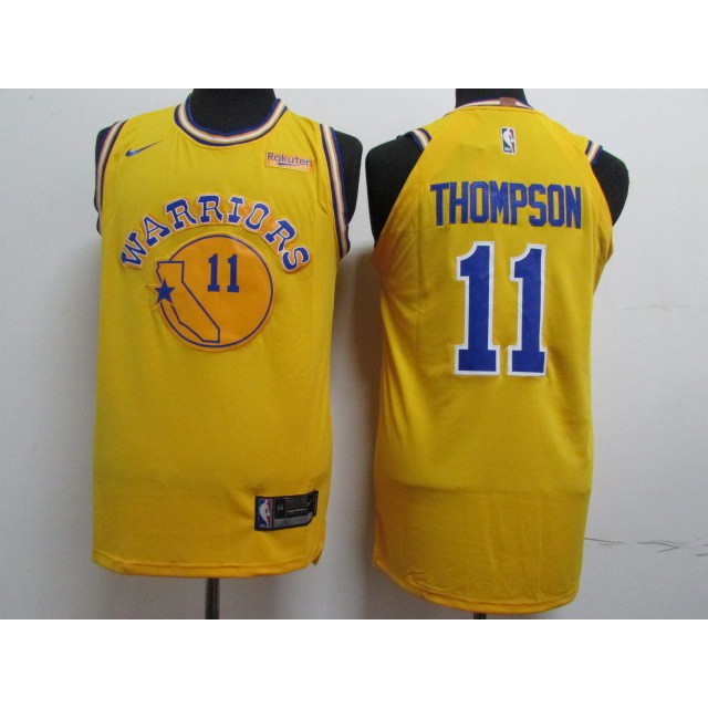 a6a945246 whites Nike Klay Thompson  11 Golden State Warriors NBA Jersey sell well