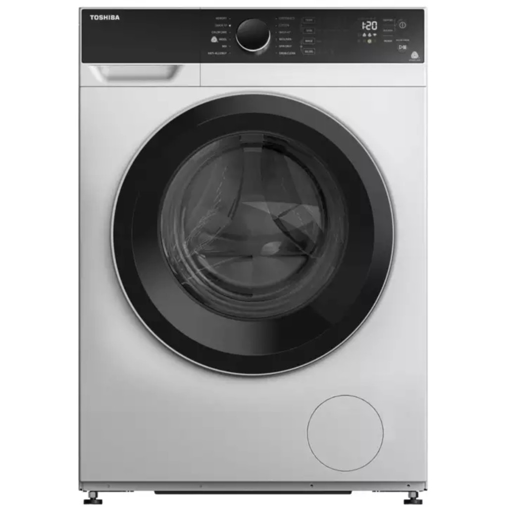 Image result for Toshiba TW-BH95M4S 8.5kg Real Inverter Front Load Washing Machine shopee.sg