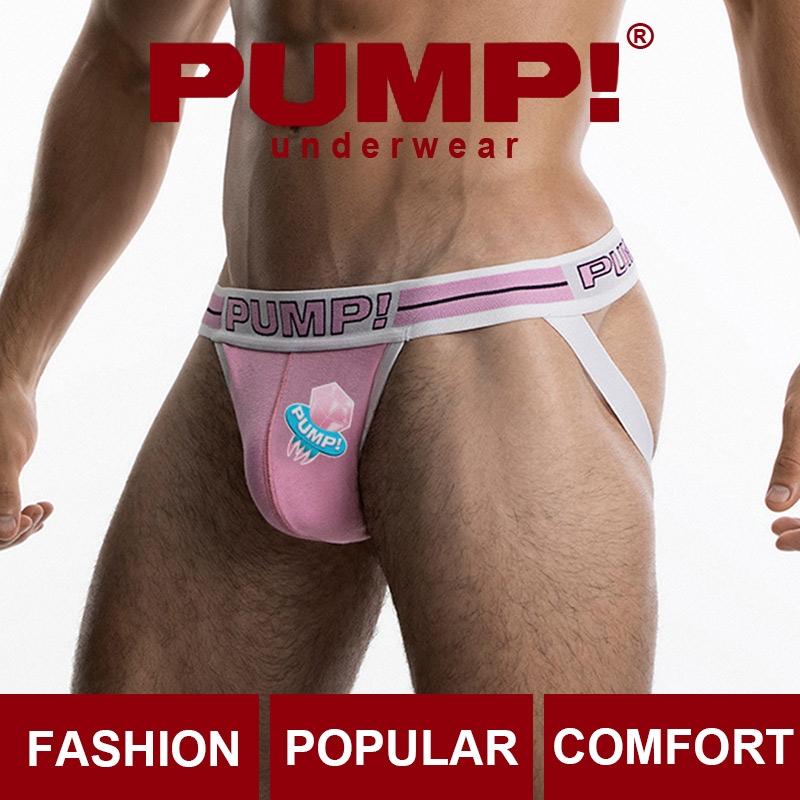 2020 New PUMP Underwear Jockstrap Sexy Men Thong G String Thongs Underpants  Lingerie Gay Pouch PU008 | Shopee Singapore
