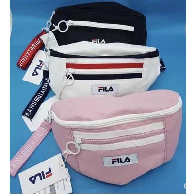 402510a8378e ready stock !FILA Waist Bag 100% Authentic Unisex Fashion Men Women ...