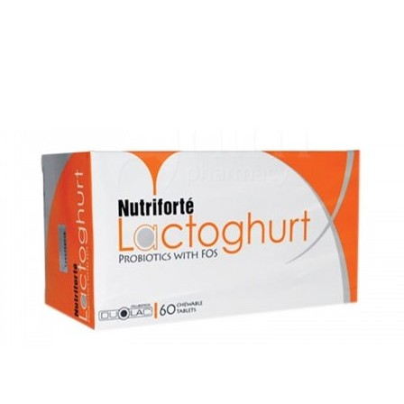 NUTRIFORTE Lactoghurt Probiotics with FOS 60s