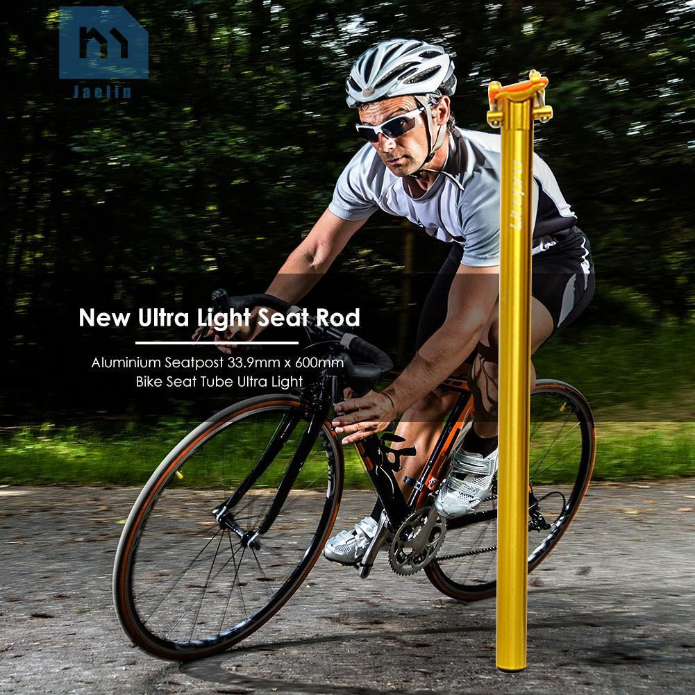 Aluminum Road Mountain Bike Bicycle Cycling CNC Seatpost 27.2 x 350mm Golden