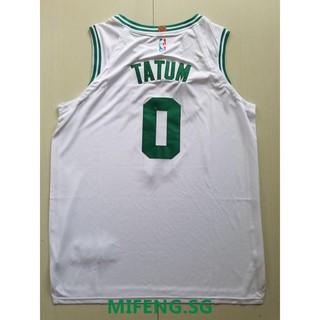 competitive price a922c 45fa8 NBA Jersey Basketball Tops Celtics No. 0 Tatum jerseys White ...