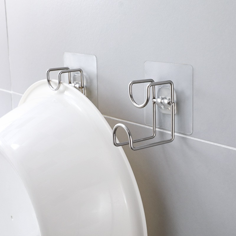 Punch Free Washbasin Hook