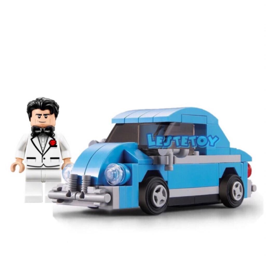 10187 Sculptures Volkswagen Beetle Compatible Lego Actual Picture