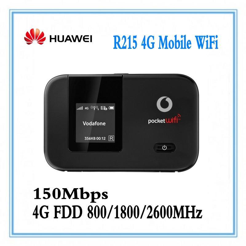 unlocked Huawei E5372 Vodafone R215 100Mbps Pocket Wifi 4G