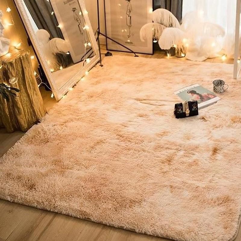 Area Rug Faux Fur Carpet Floor Mat