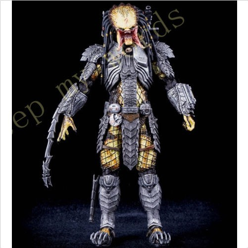 """NECA AVP Scar Predator Unmasked 7/"""" Action Figure Series 14 New In Box Collection"""