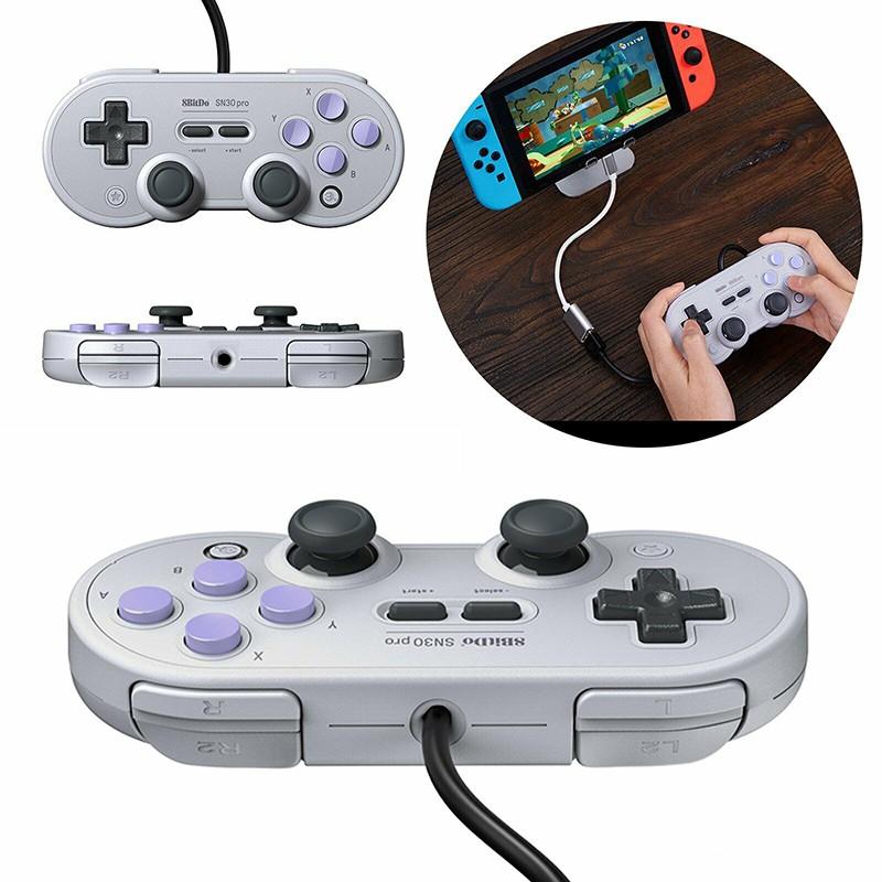8Bitdo SN30 PRO USB Bluetooth Gamepad W/Joystick for Nintendo Switch PC  Android