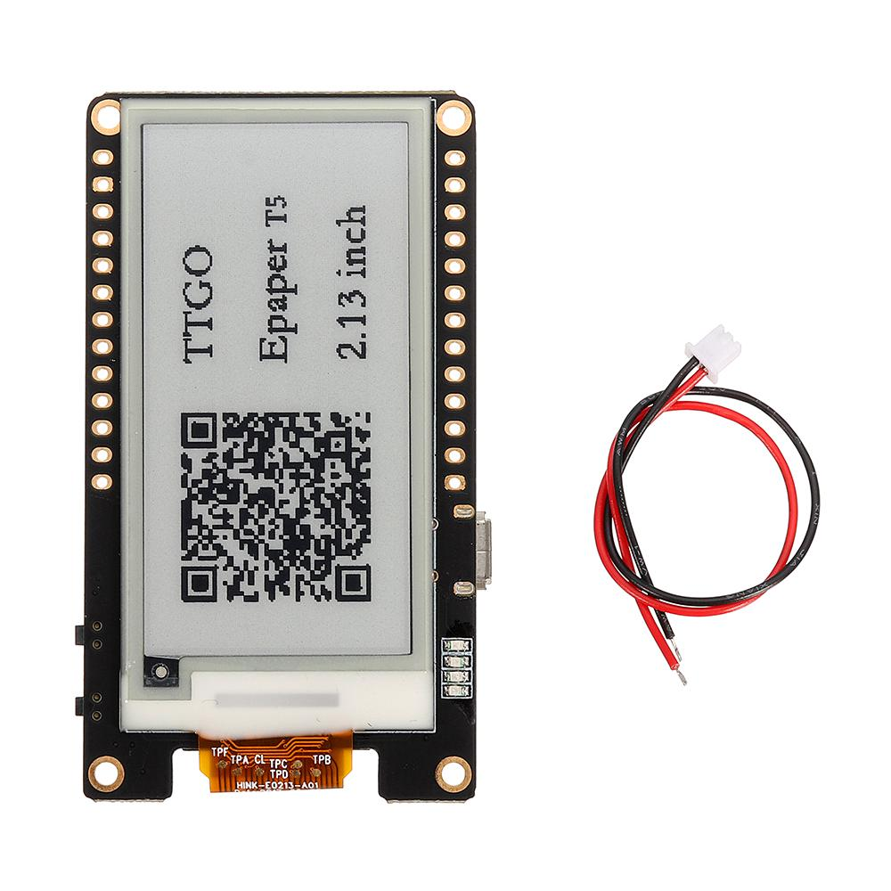 Wemos00ae T5 V2 0 TTGO WiFi Wireless Module bluetooth Base
