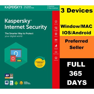 Kaspersky Internet Security Antivirus 2019 1/3 Devices 1