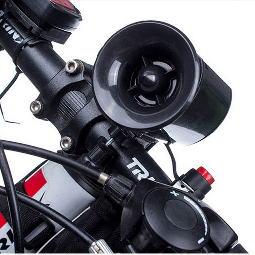 Ultra Loud Bicycle Bike Cycling Handlebar Ring Horn Bells Electric Horn Alarm