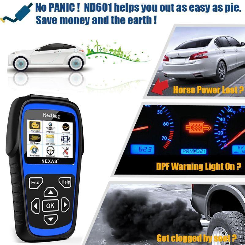 NEXAS ND601 For BMW / MINI OBD Code Reader Diagnostic Scanner