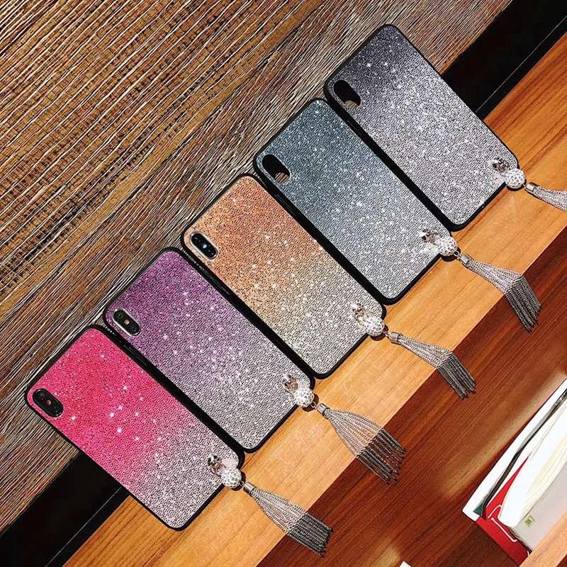 Casing vivo Y66 Y67 Y69 Y71 Y75 Y79 V7 Plus case glitter fashion soft cover