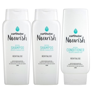 [Earthwise] Nourish Haircare Set / Shampoo, Conditioner / General, Damaged,  Dyed