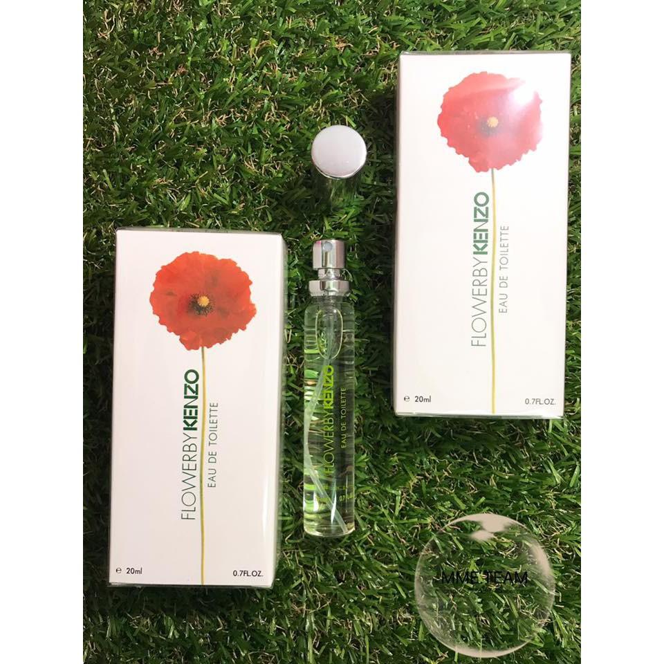 Flower By Kenzo Edt 4ml Shopee Singapore Woman 100 Ml Original Free Vial