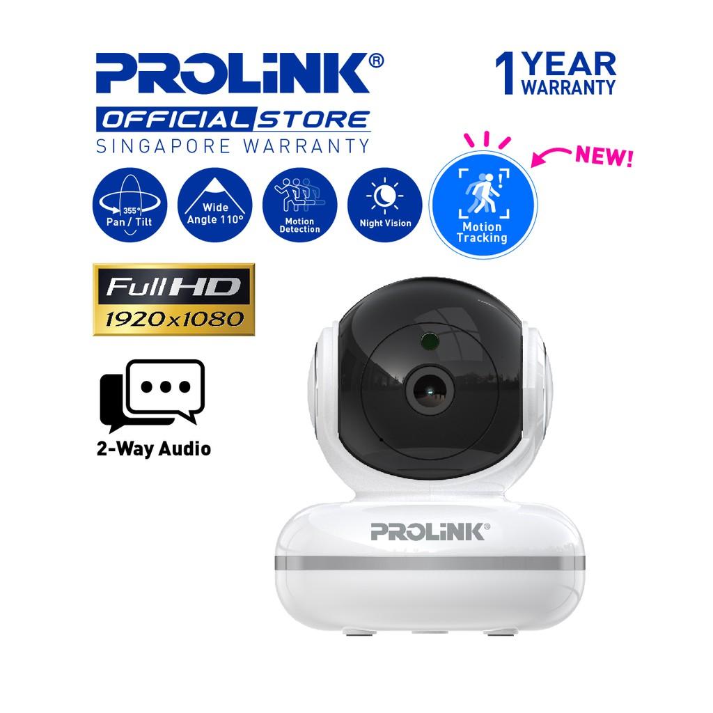 NEW PROLiNK SmartCam Plus II Full-HD Wireless IP Camera (Pan/Tilt) - baby  monitor/ CCTV/ Home Security   Shopee Singapore
