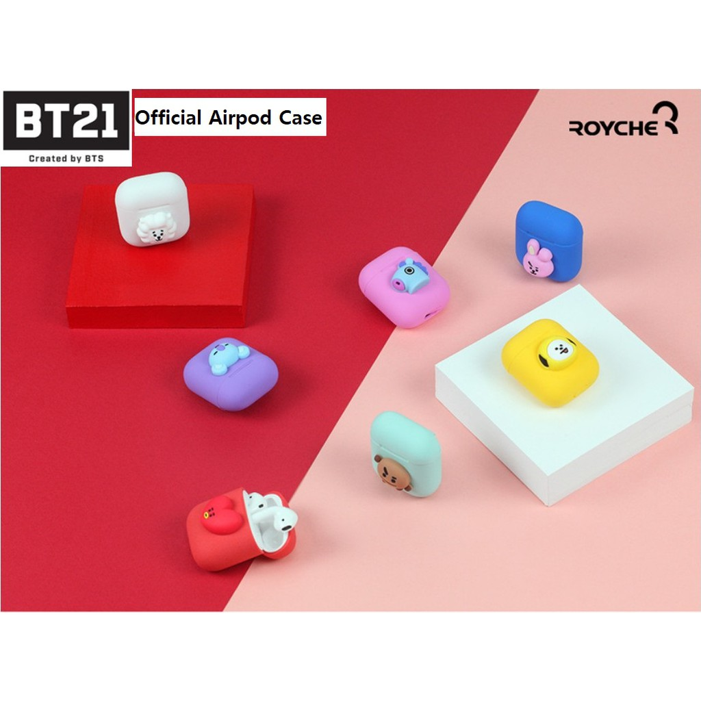 ★Ready to Ship★BTS BT21 Official Airpod Case with Royche