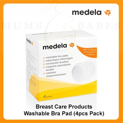 828fcc1f824d5 Medela Breast Care Products - Washable Bra Pad (4pcs Pack)