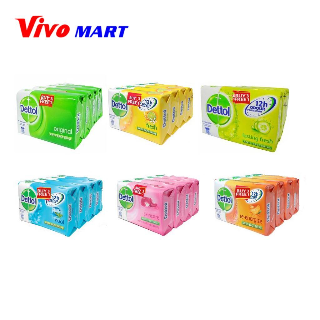 Lifebuoy Cool Fresh Anti Bacterial Bar Soap 3 1pcs 4x155g Shopee Dettol Bodywash Lasting 450ml X Singapore