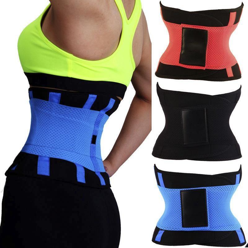 Yoga Slim Waist Belt Trimmer Trainer Weight Loss Burning Fat Body Shaper Sport