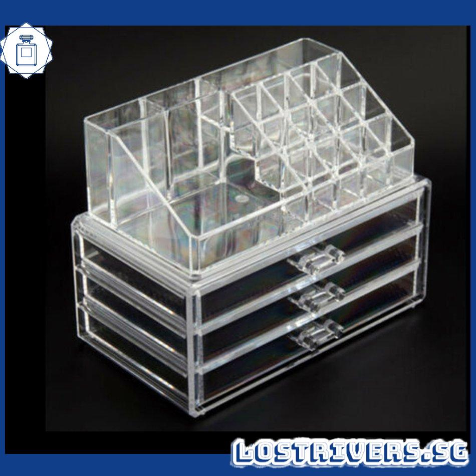 Cosmetic Acrylic Makeup Drawer Holder