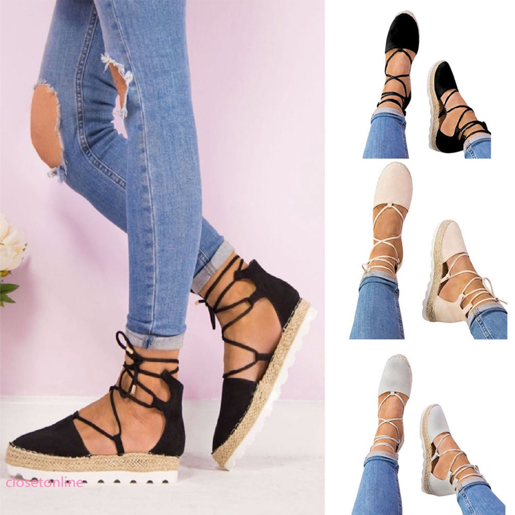 Ladies Womens Summer Sandals New Espadrilles Flat Gladiator Fancy Dress Shoes