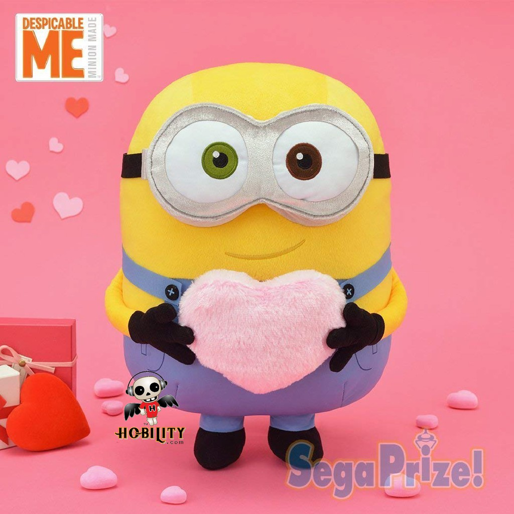 SEGA Despicable Me 3 mega jumbo pig and with a stuffed toy Soft plush japan