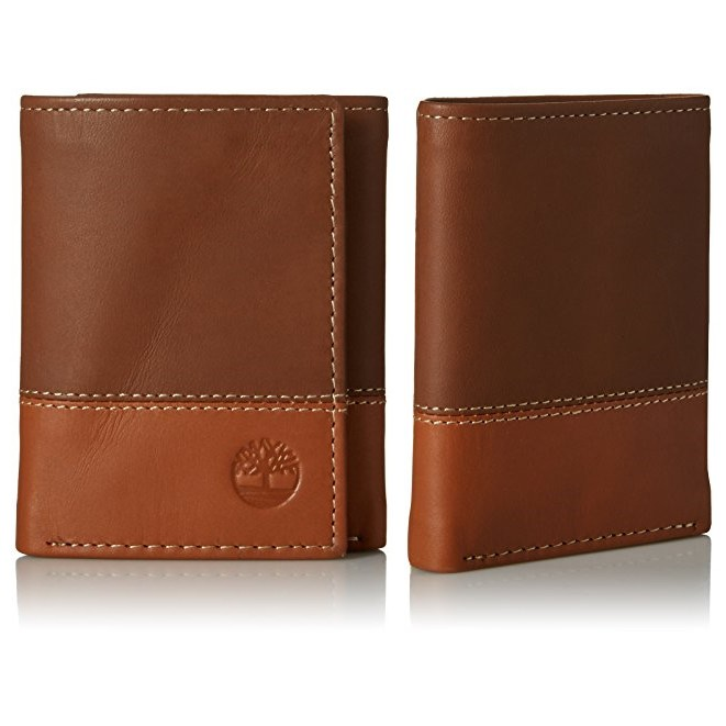 926d1e926301 Timberland Men s Nylon Trifold Wallet Black In Gift Box