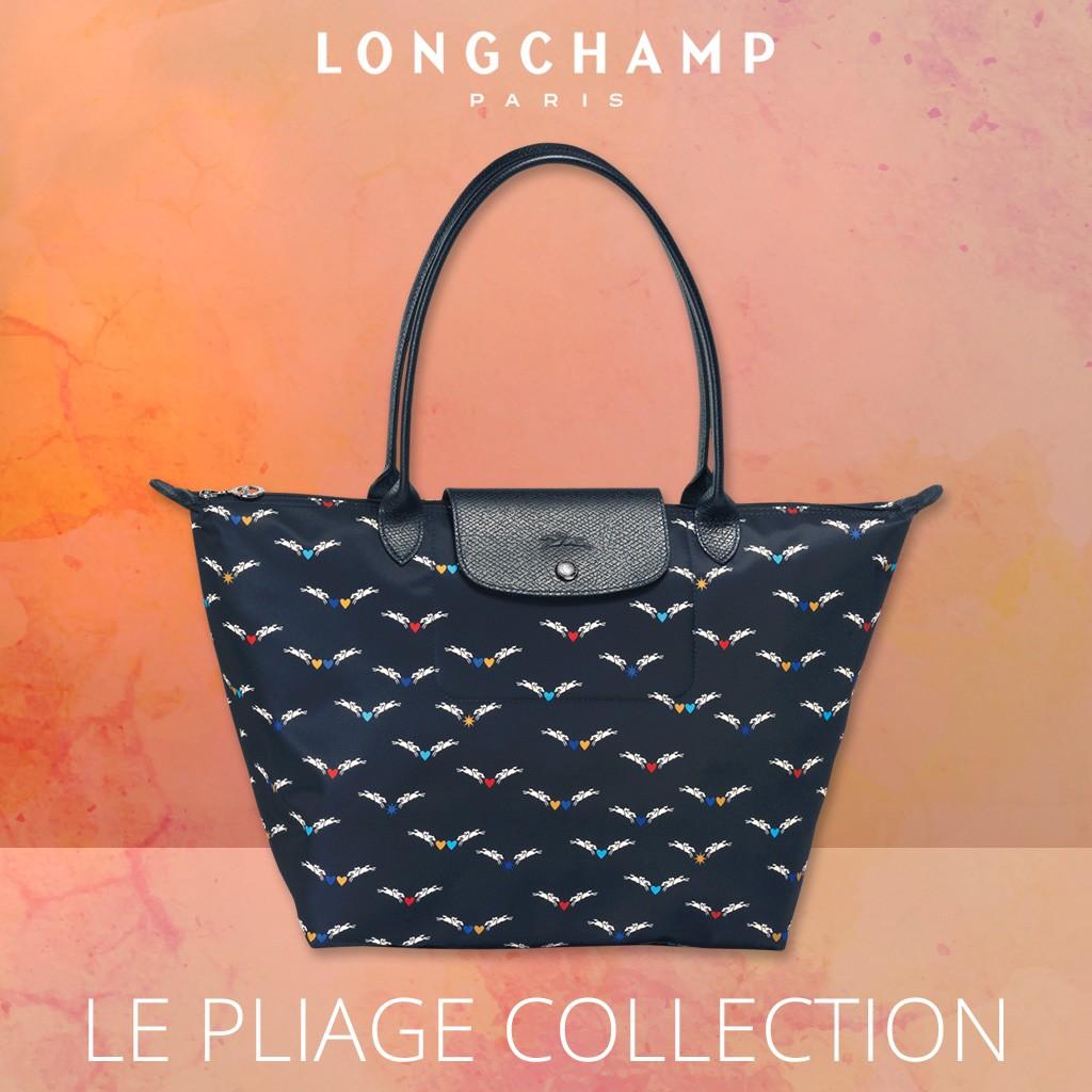 93f482cb37b4 LONGCHAMP Le Pliage Club 2605 Small Tote Bag - Navy