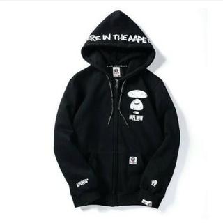 Bape Men/'s Windbreaker A Bathing Ape Long Sleeve Thin Loose Zip Up Coat Jacket